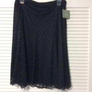 Ladies Plus Size Lace Skirt